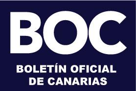Boletín Oficial Canarias.