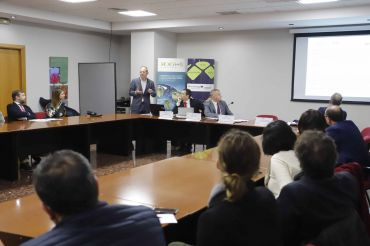 Presentación del Bono Brexit del Igape (Xunta de Galicia) en Vigo.