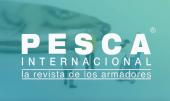 "Logo de la revista ""Pesca Internacional"" de Arvi."
