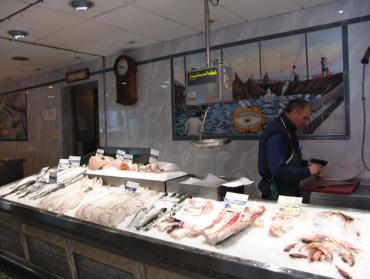 Pescadería Madrid
