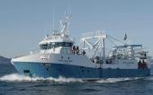 """Imagen del """"Ponta Matirre"""", el buque de Nueva Pescanova construido por Armón en Vigo."""