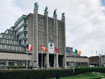 Brussels Expo, recinto donde se celebra la Seafood Expo Global de Bruselas.