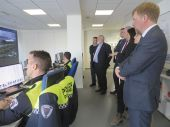 Visita de la delegación del Puerto de Cork a Vigo.