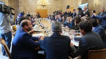 Reunión del Gobierno de Baleares con el Ministerio para la Transición Ecológica.