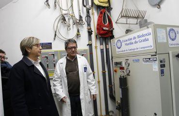 Visita a la Estación de Biología Marina da Graña.
