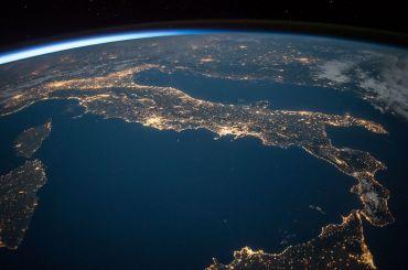 Mediterráneo vista aérea