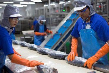 Trabajadores de Thai Union.