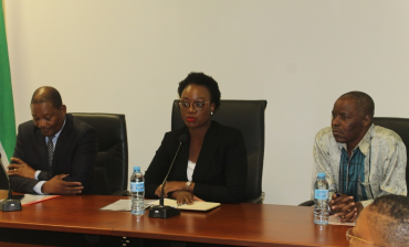 Nueva ministra do Mar de Mozambique, Agusta de Fátima Charifo Maita.