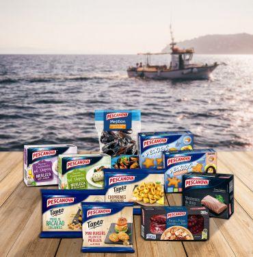 Productos de Nueva Pescanova.